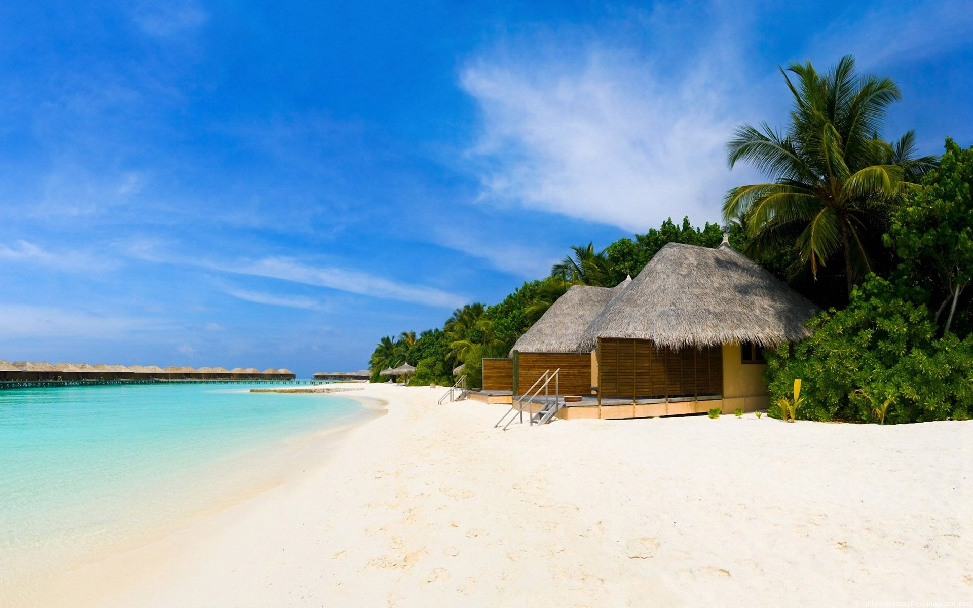 Tropical Island Beach Ambience Sound: Amazing Holiday Beach Wallpapers Hd