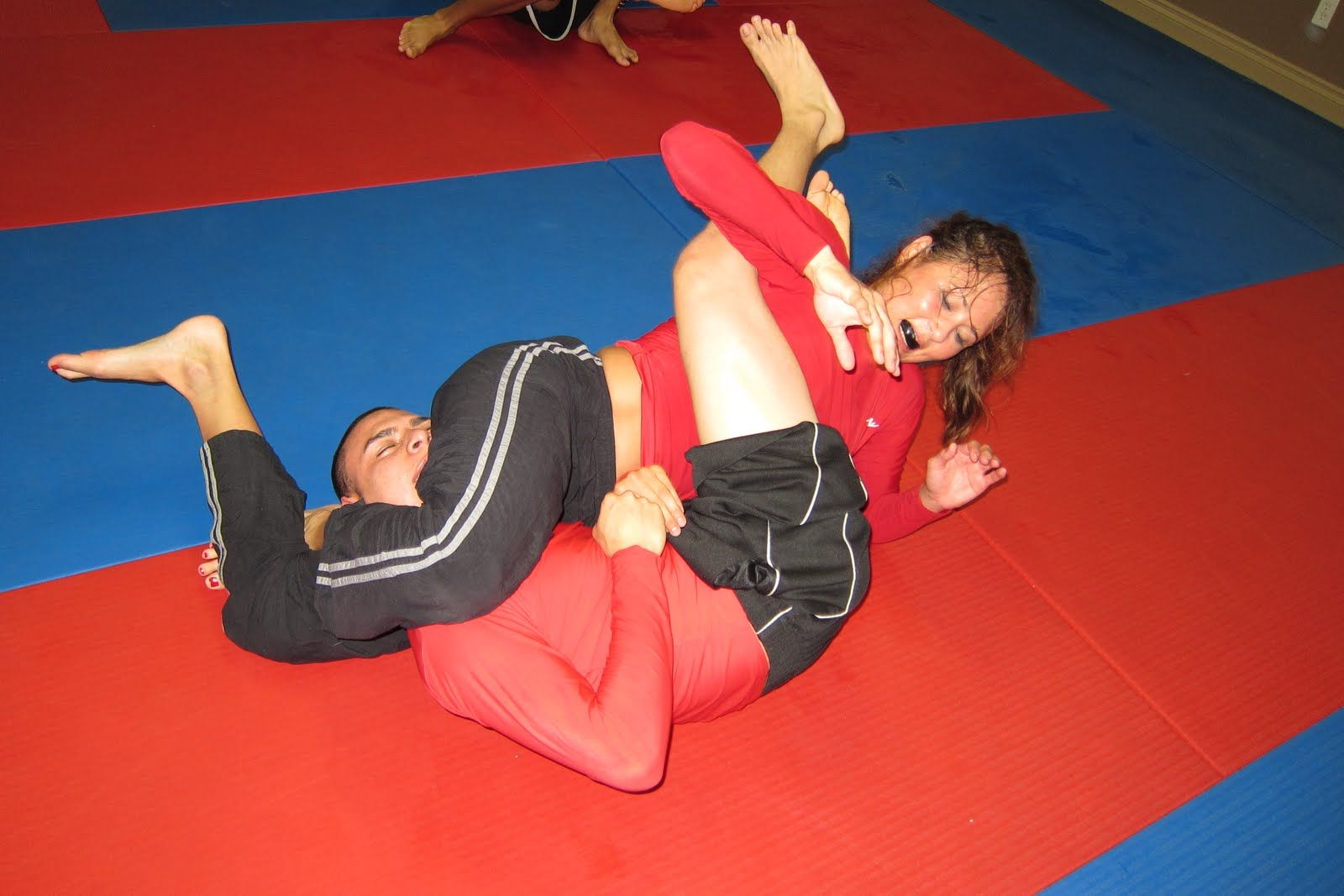 Women Grappling Mma - Bing Images  Athletics  Mixed -1565