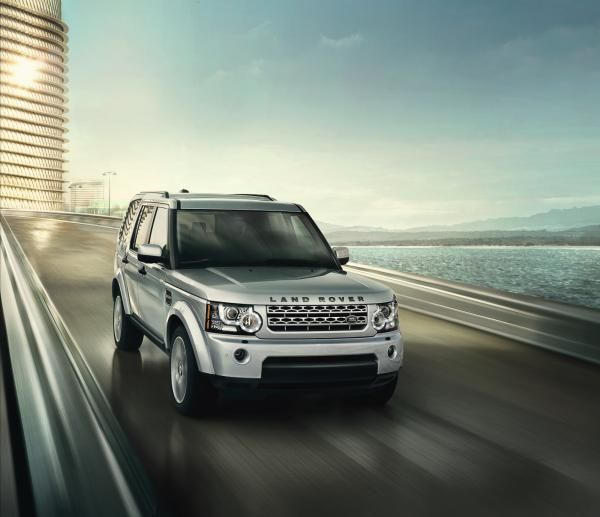 The 2012 Land Rover LR4. #LandRover #LR4