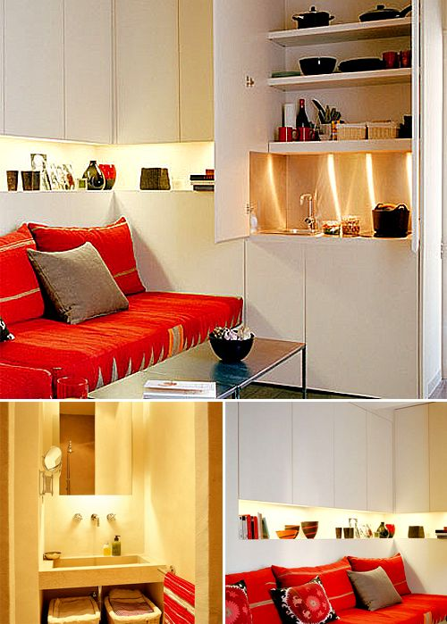 Very Small Studio Of 18m2 194 Sq Ft The Style Files