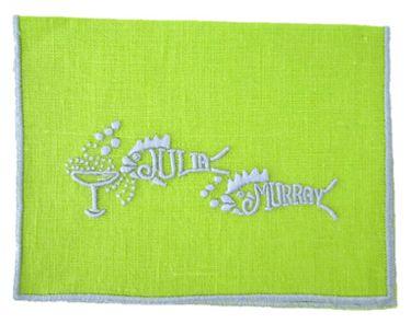 JuliaB.com: Custom Linens, Hand Embroidered Linens, Monogrammed Luxury  Linens