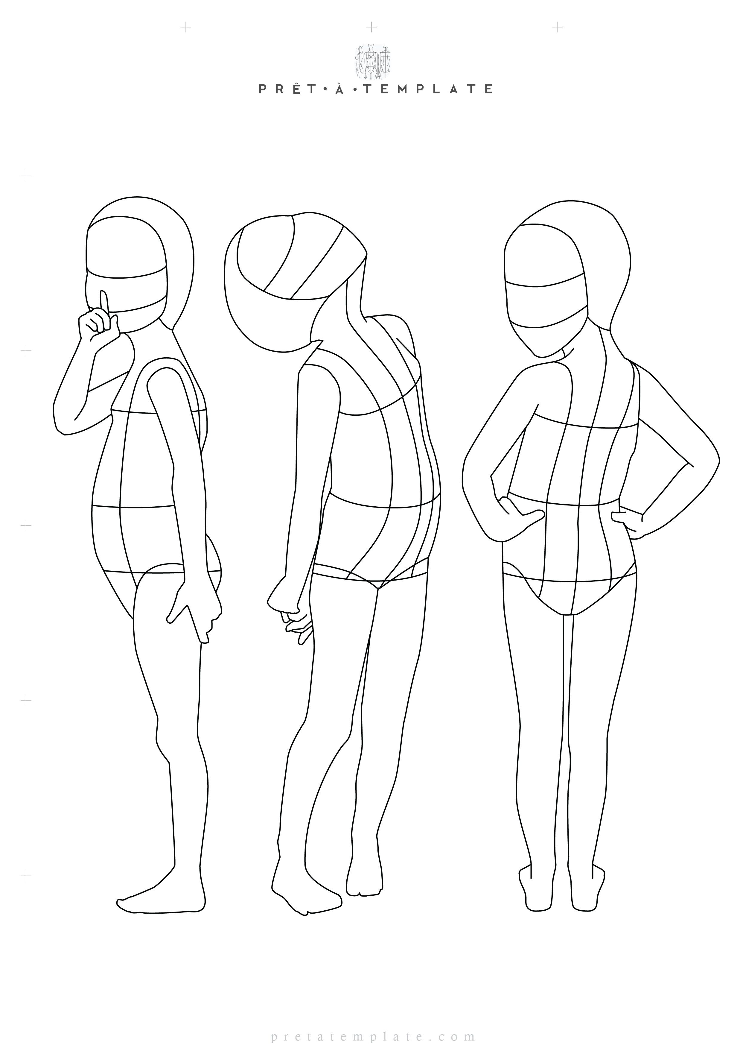 Photo of Download Fashion Figure Templates – Prêt-à-Template