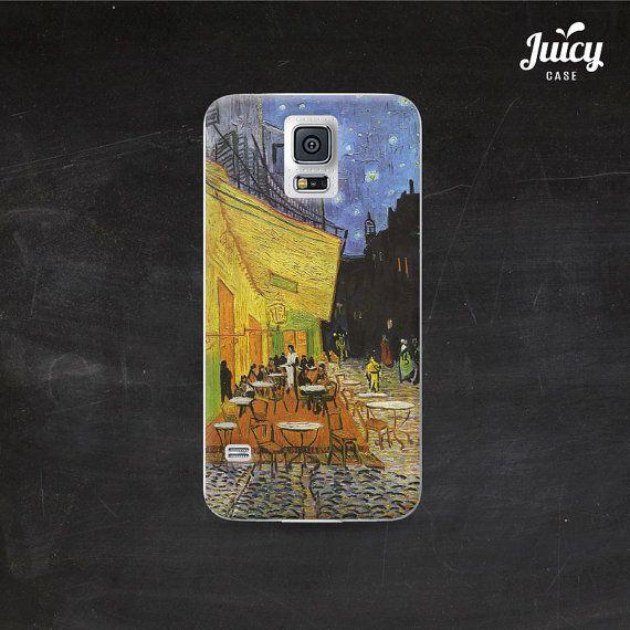 samsung galaxy s5 case van gogh terrace cafe night by JuicyCase