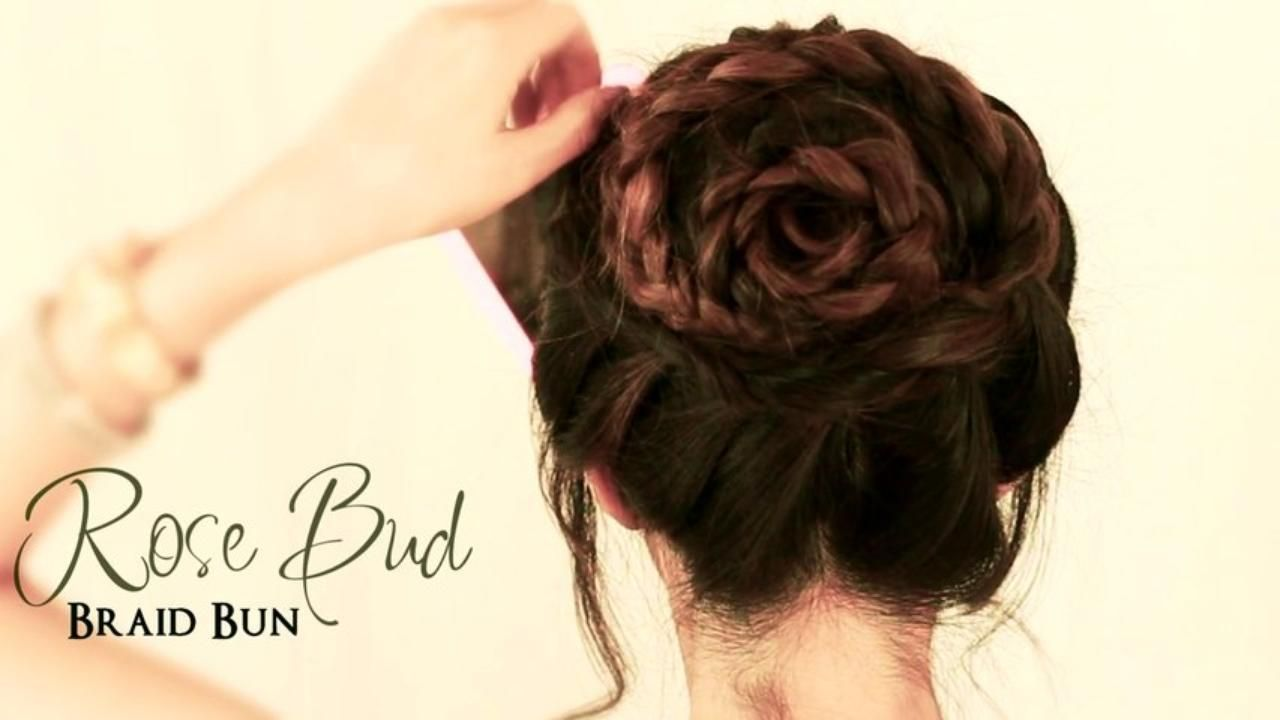 How to do a rose bud braid bun cute hairstyles for medium long how to do a rose bud braid bun cute hairstyles for medium long solutioingenieria Image collections