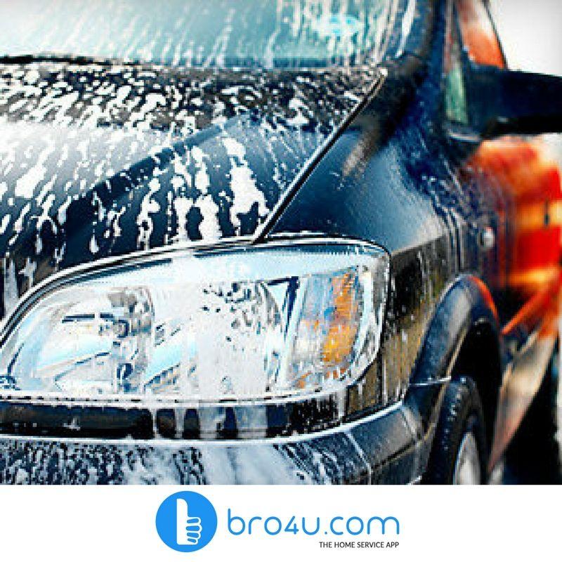 Car Wash Services in Hyderabad bro4u car wash services