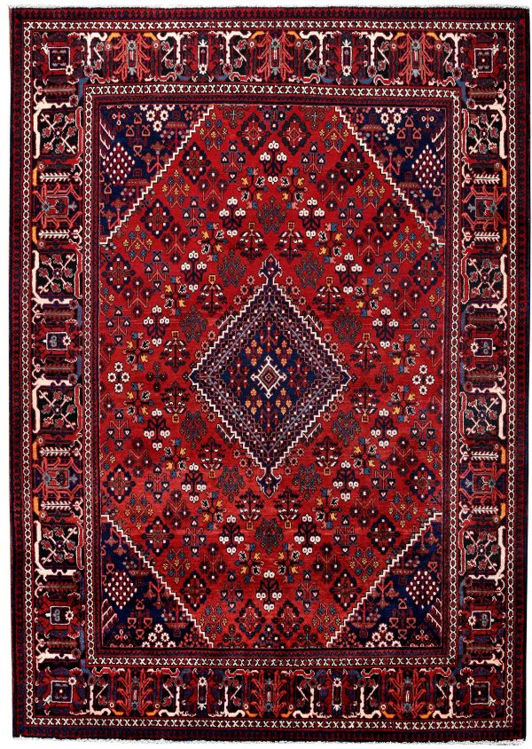 Red Joschaghan Hand Knotted Persian Rug In 2020 Hand Knotted Persian Rug Persian Rugs For Sale Persian Rug