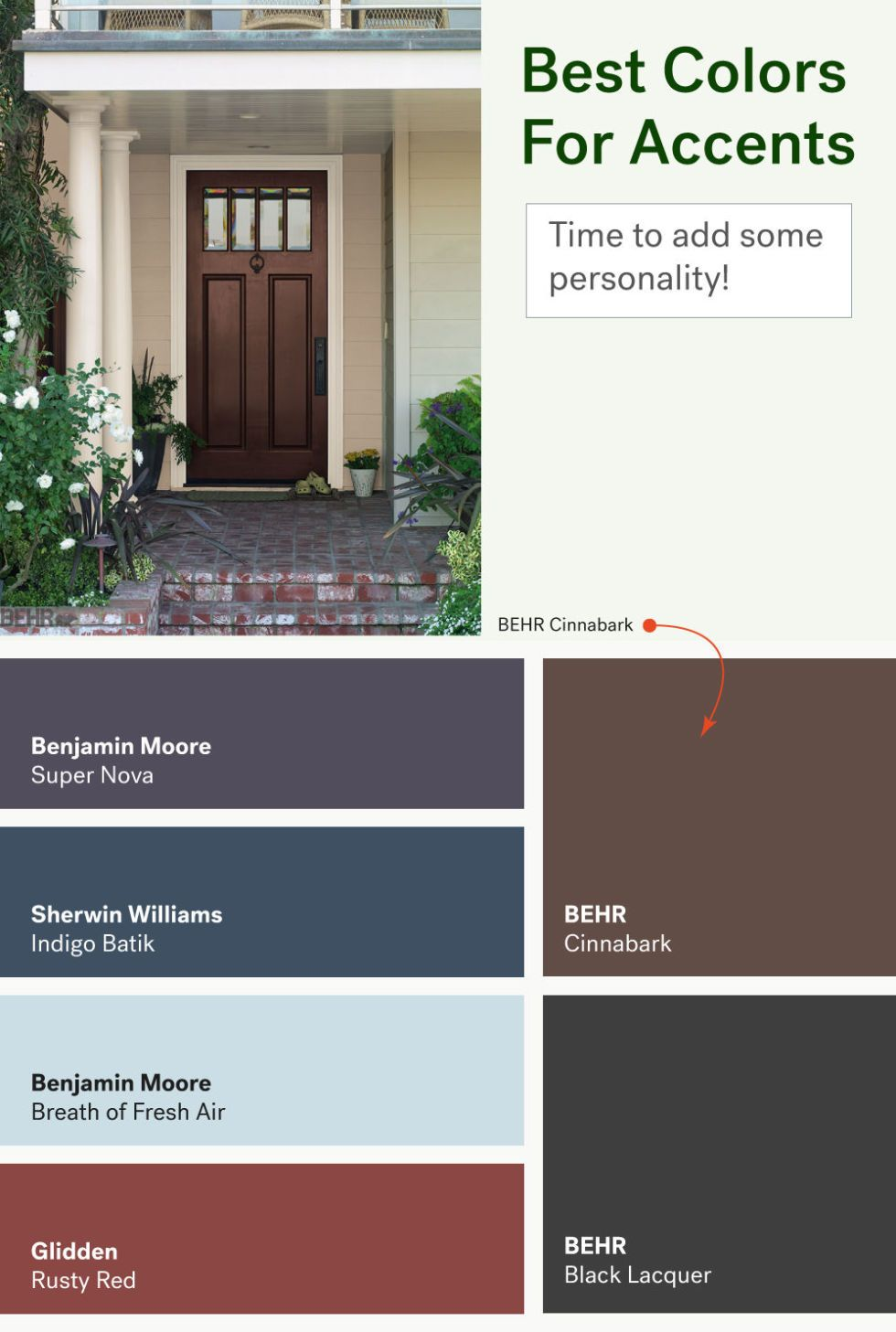 These Are The Most Por Exterior Home Paint Colors Housebeautiful