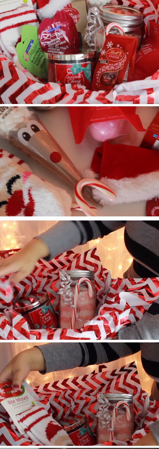 50+ Cheap and Easy Gift Basket Ideas for Christmas | christmas ...
