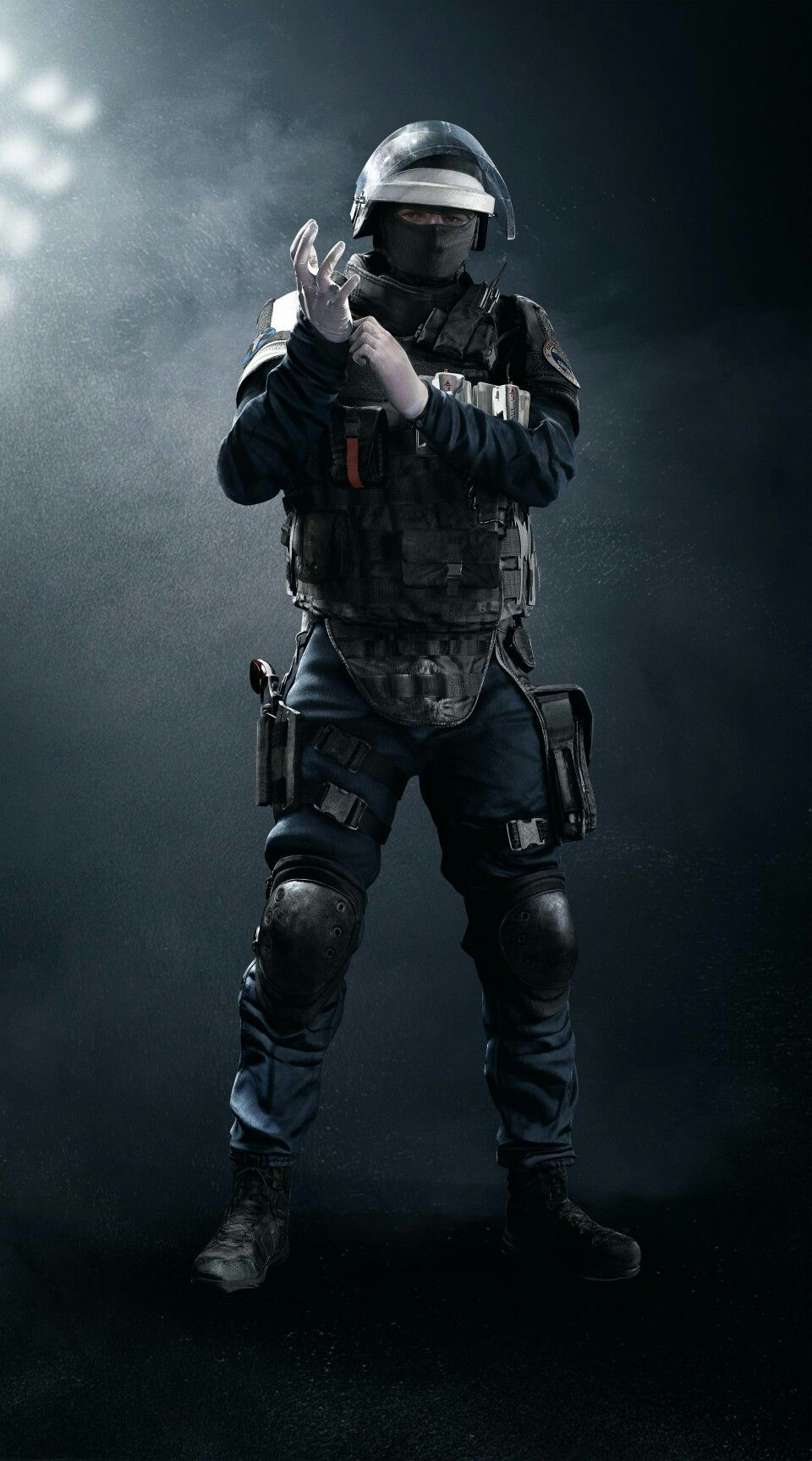 This Is A Character In A Video Game Named Rainbow Six Siege This Is Doc His Job Is To Heal Is Teammate Tom Clancy S Rainbow Six Rainbow Six Siege Art Rainbow
