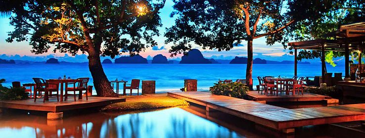 Tubkaak Krabi Boutique Resort - stayed here in January 2014.  Seriously one of the most beautiful places I've ever been.