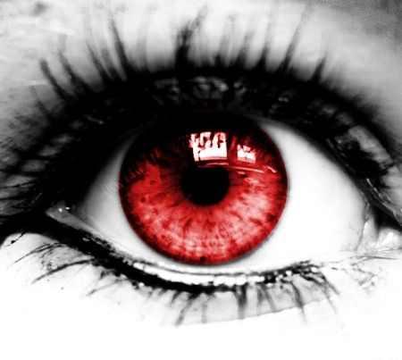 Im Seeing Red Electric Eyes Itchy Eyes Eyes Red