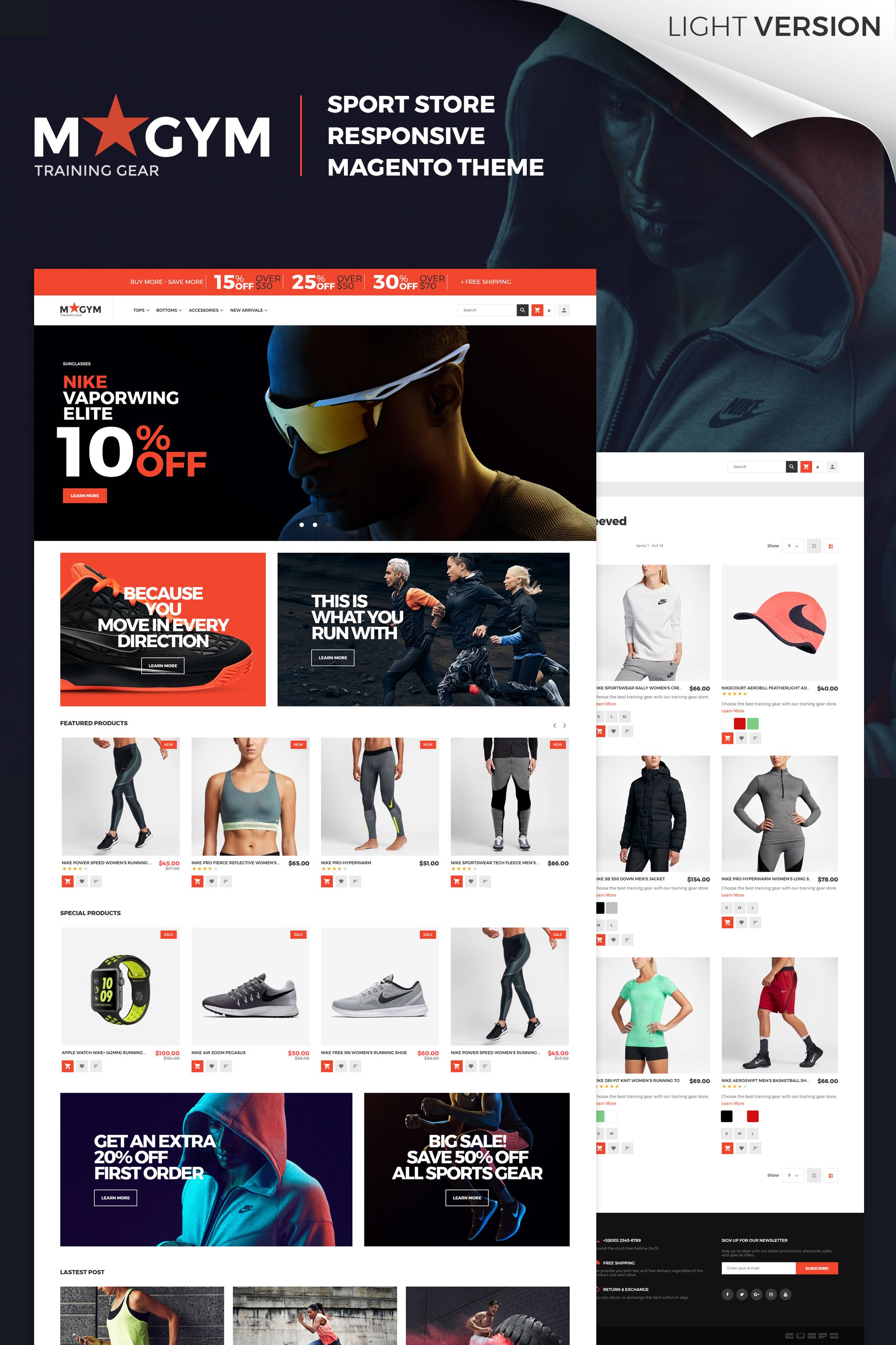 MyGym - Sport Store Magento 2 Theme