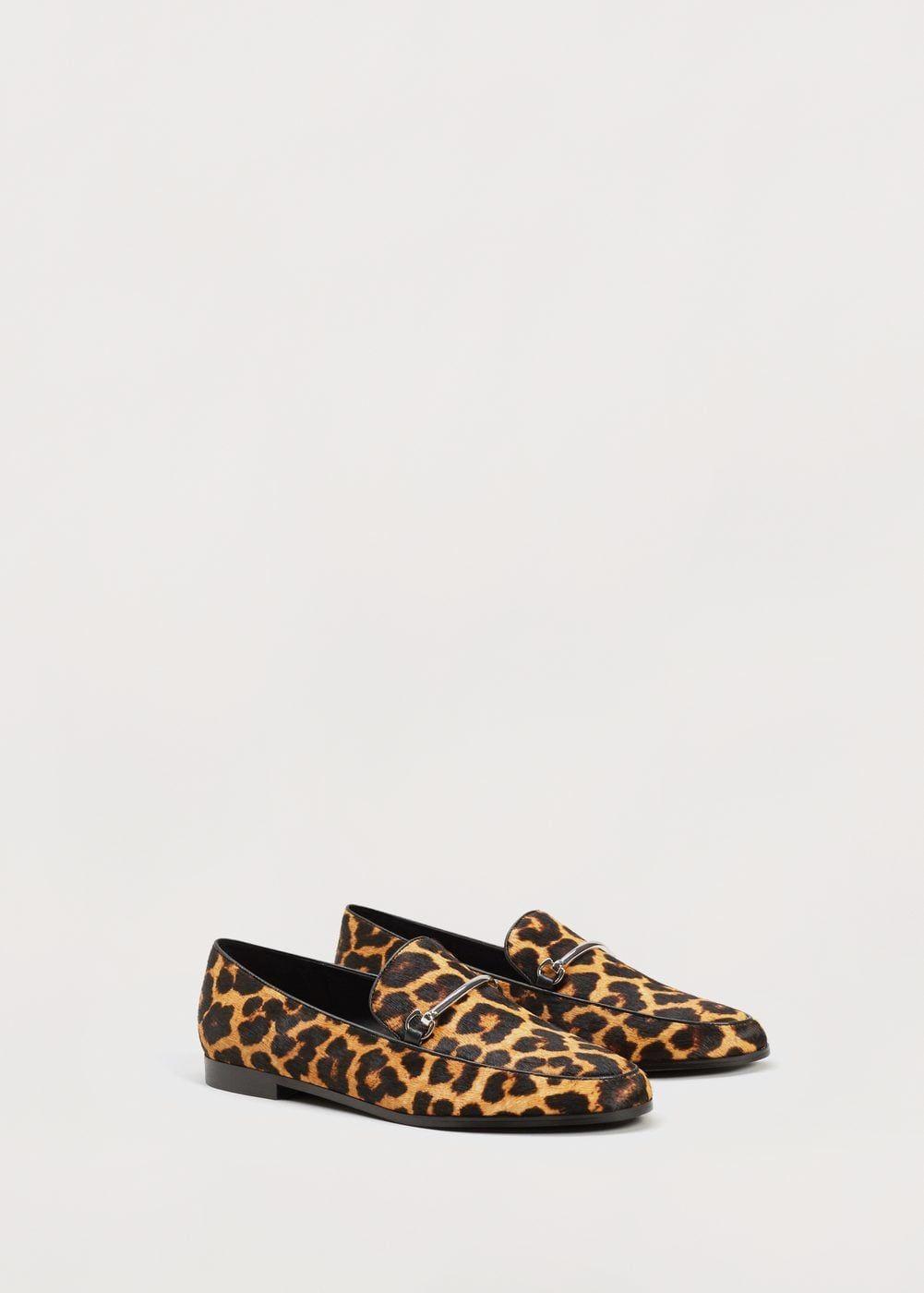 Piel Animal Shoes Print Tallas Zapato Leather Mango Grandes UOdvqqRw