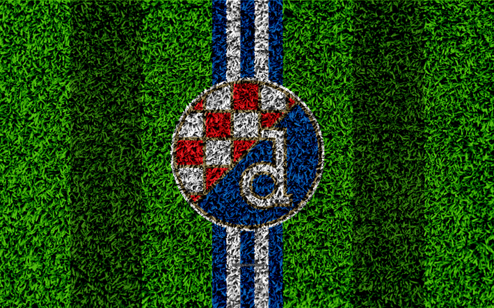 Download Wallpapers Gnk Dinamo Zagreb 4k Football Lawn