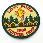 1988 Lost Pines Summer Camp Boy Scout Patch BSA