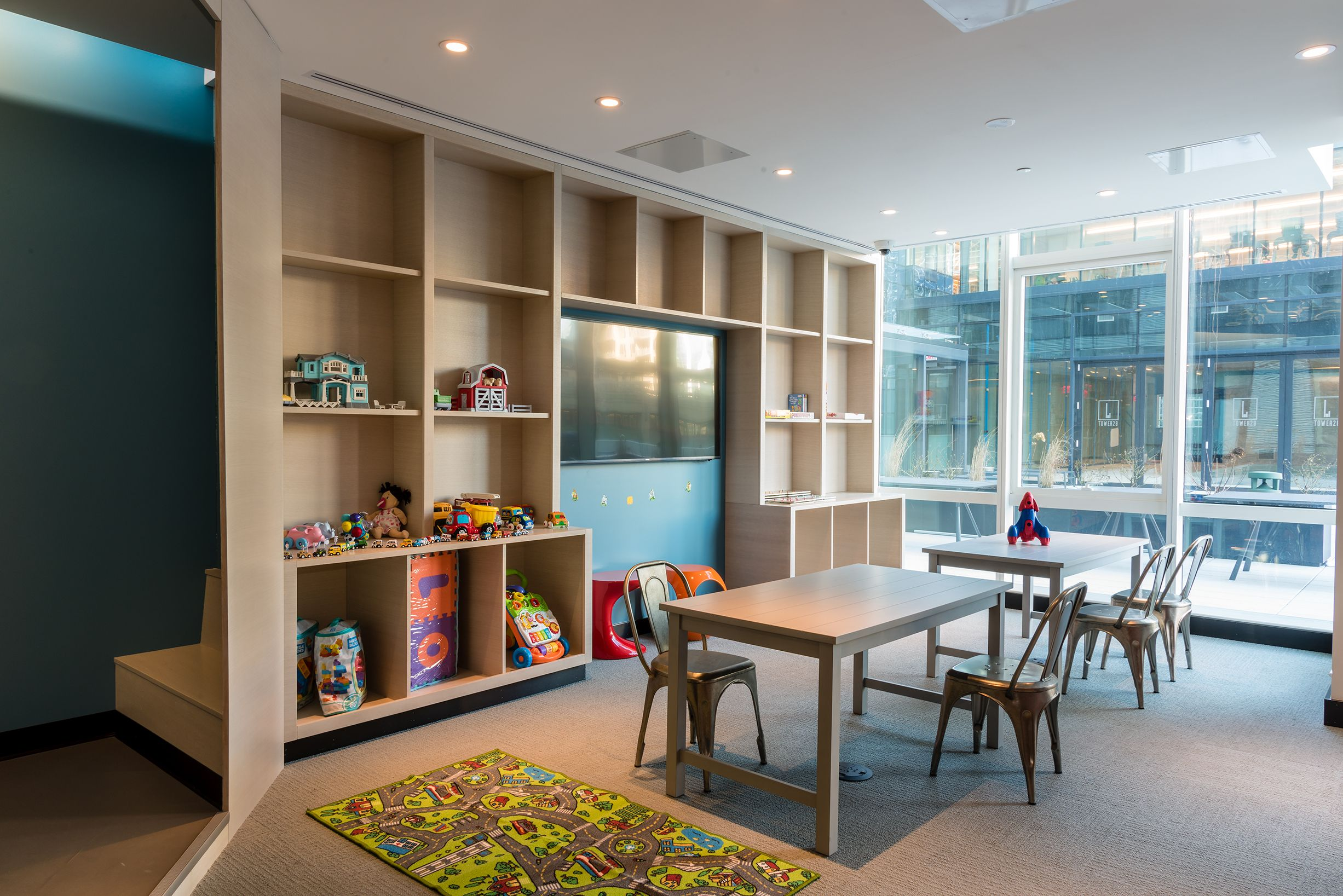 Children\'s Playroom and Recreation Area. #tower28 ...