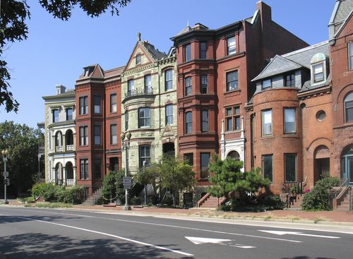 Row Houses On Logan Circle Washington Dc Arch Architecture The Neighbourhood Best Places To Live