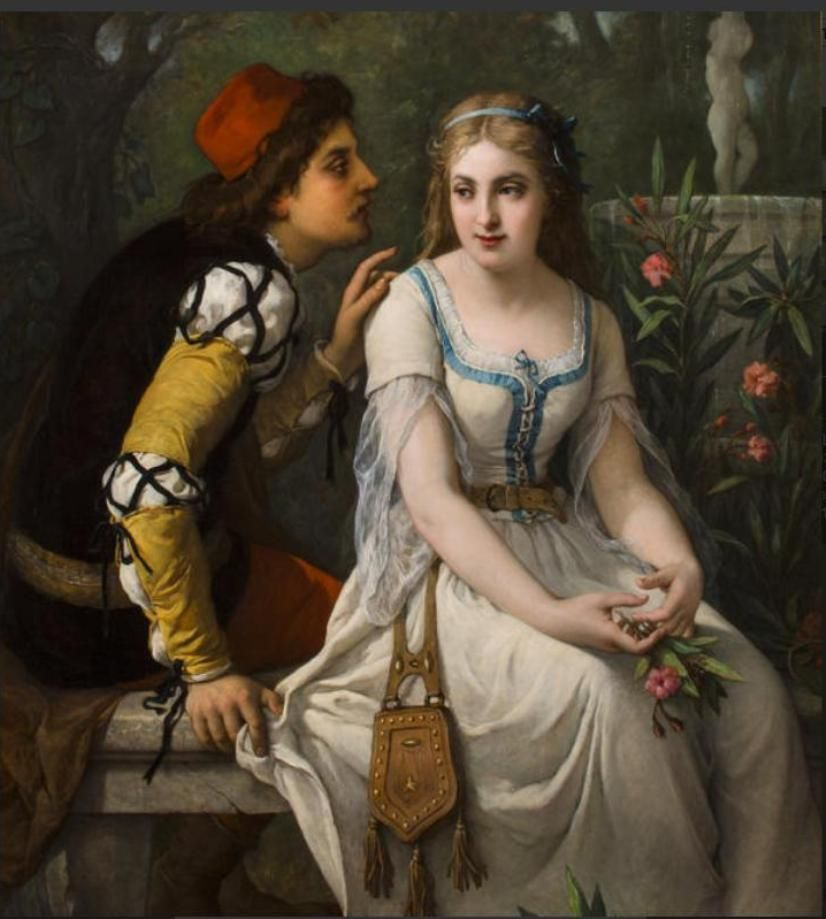 Jules Salles-Wagner (French, 1814-1898)Romeo and Juliet