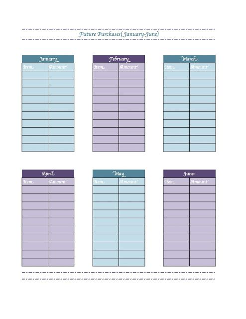 New Printable for Household Budget/Management Binder - Great for - household budget excel spreadsheet
