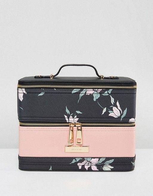 Discover Fashion Online Vanity Case Floral Prints Case