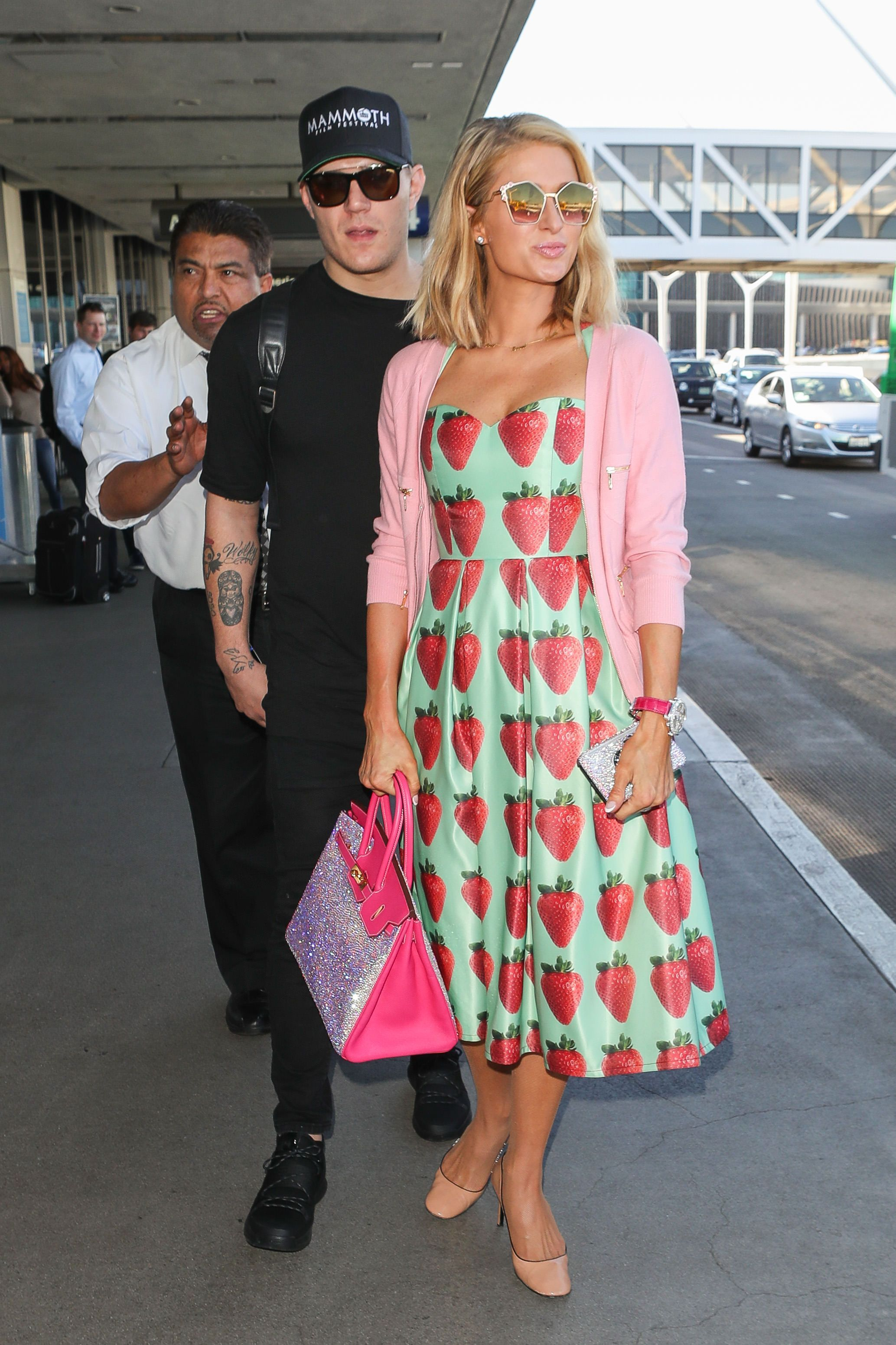 Paris Hilton At LAX Airport 2 8 18 Paris Hilton HQ