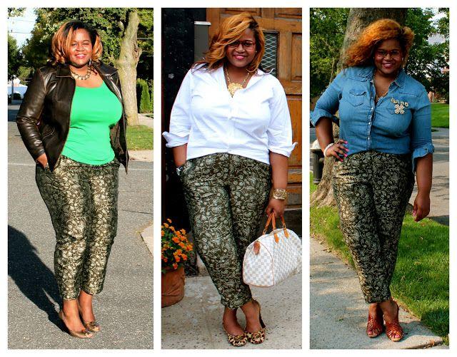 Brocade green pant + leather jacket + green tee + white boyfriend shirt + denim shirt + pins + LV satchel + tory burch leopard flats + woven brown sandals + tory burch gold wedge heels