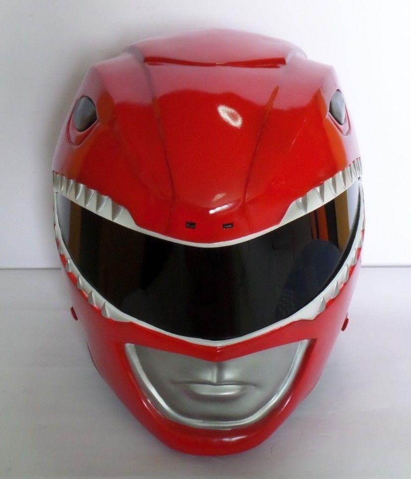 Mighty Morphin Power Rangers Red Power Ranger Helmet