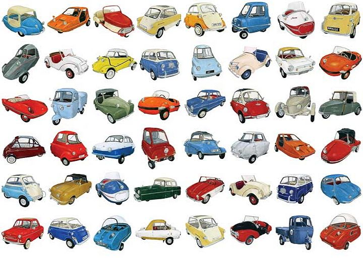 lots of micro cars