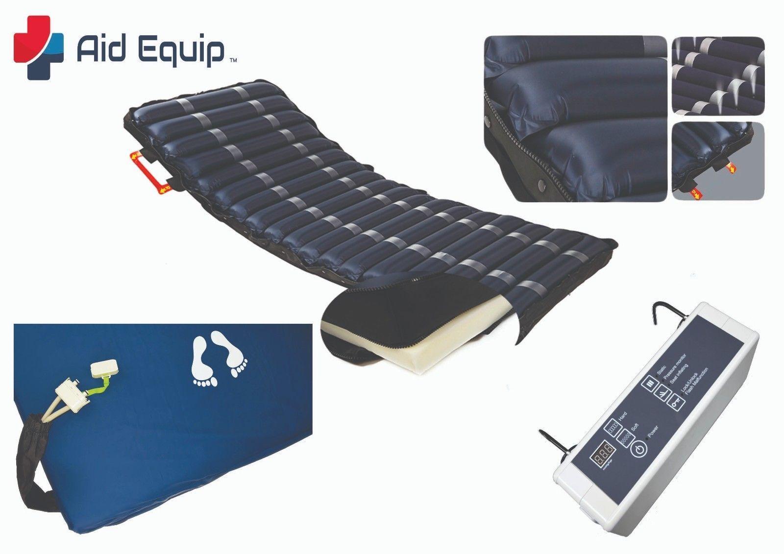 Hospital bed Alternating air mattress 2 in 1 system (High