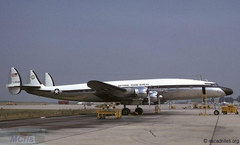 Lockheed C-121 - Escadrilles