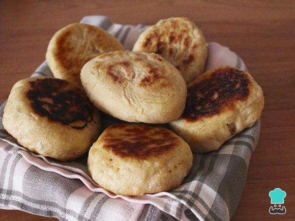 como hacer pan amasado facil sin levadura