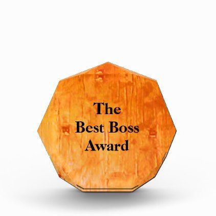 the best boss award copper art acrylic awards acrylic awards and