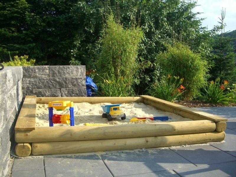 Komplett Neu Sandkasten stabil 200x200 cm | Spielturm | Pinterest | Sandkasten  DH79
