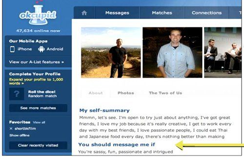 Murr's real-life Ok cupid profile :) | Impractical Jokers