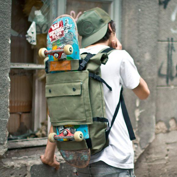 Skateboard Backpack Design Decks Fashion Wheels Skateboarding