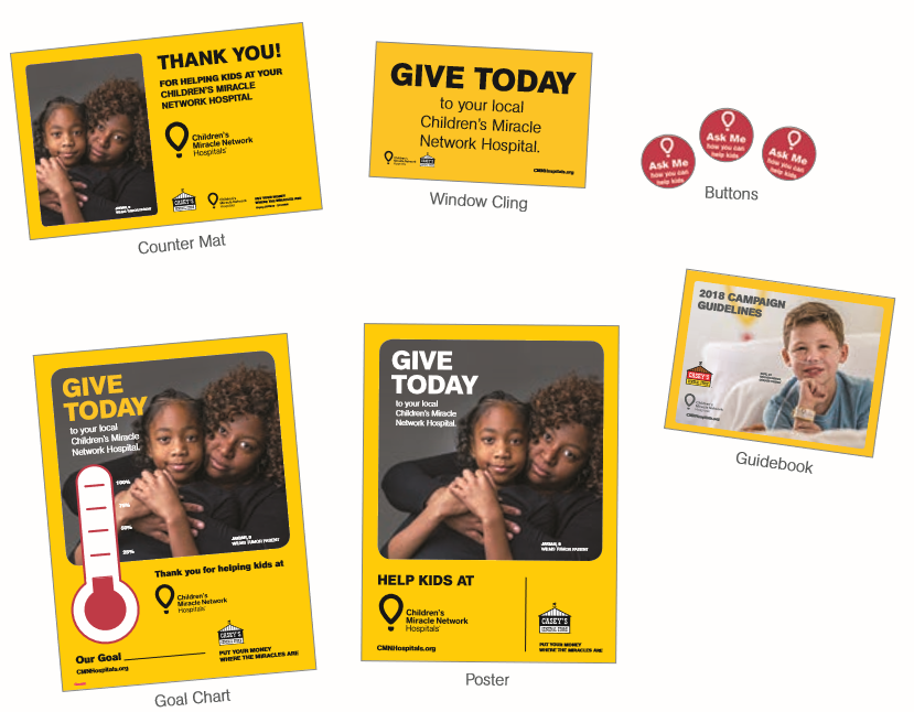 Casey S Kit Materials Children S Miracle Network Hospitals Helping Kids Campaign