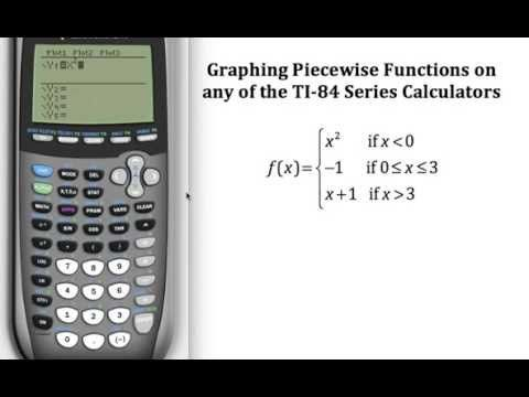 Graphing Piecewise Functions on a TI-84 Series Calculator Pre - time card calculator