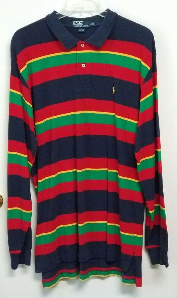 Ralph Lauren Blake Mens Dress Shirt Medium Multi-color