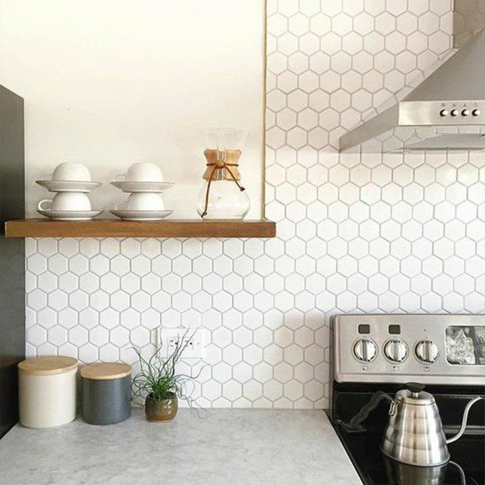 17++ Idee credence cuisine blanche ideas