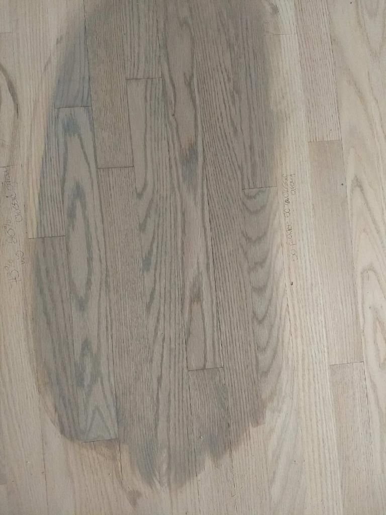 50 Classic Gray And 50 Pickled Oak White Wash Oak Floor Grey
