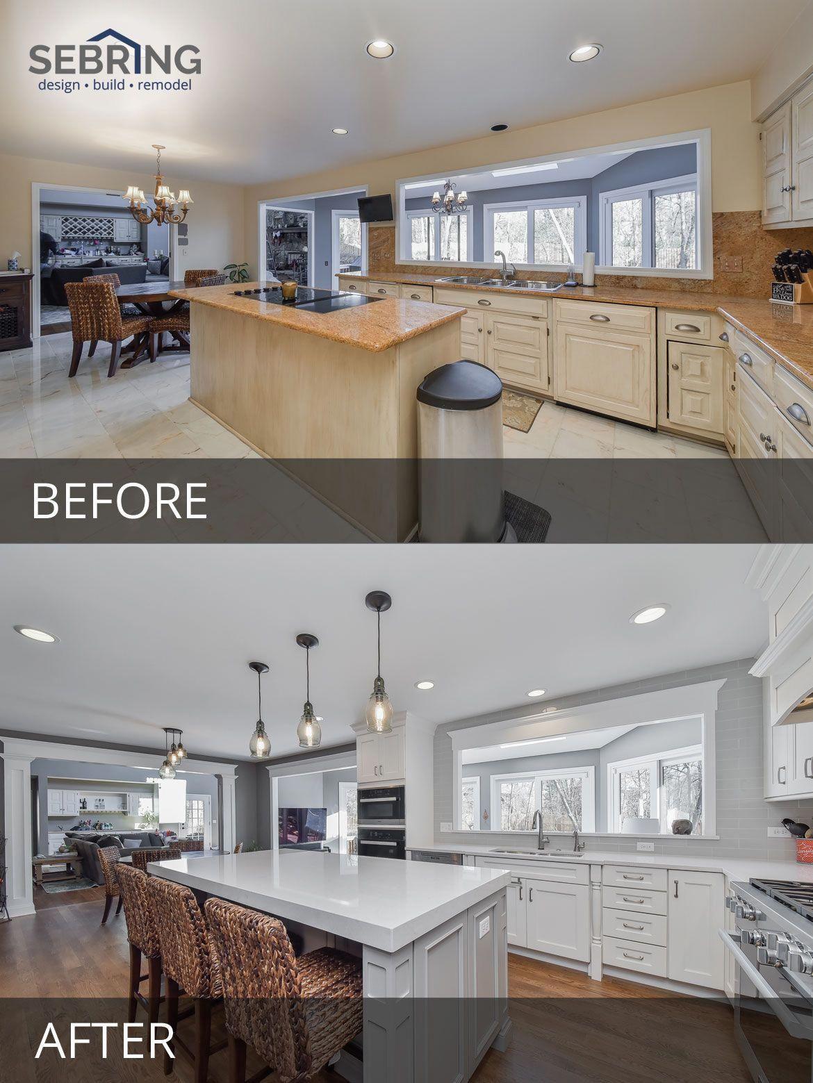 Kitchen Design Naperville Mats Walmart Remodeling Before And After Pictures Sebring Build