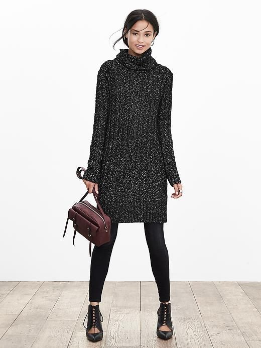 149a6a81d8 Heritage Cable-Knit Sweater Dress I love the style and color of this dress.