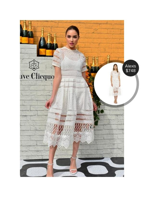 Olivia Culpo at the Clicquot Carnaval in Miami #alexis  #oliviaculpo @dejamoda