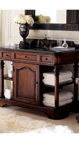 Horchow Clairborn Chest for bathroom vanity...