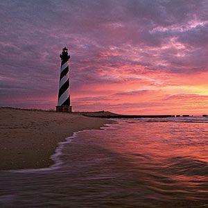North Carolina: Okracoke Alive --- would love to see a sunset like that again!!!