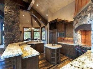 Luxury Mountain Home 6 Luxury Kitchens Best Kitchen Designs Home