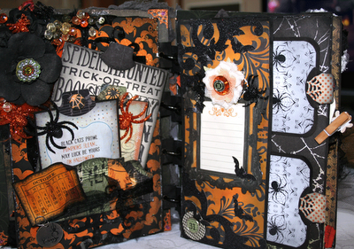 Halloween 2020 Album Spooktacular Halloween Mini Album! | Halloween mini albums, Mini