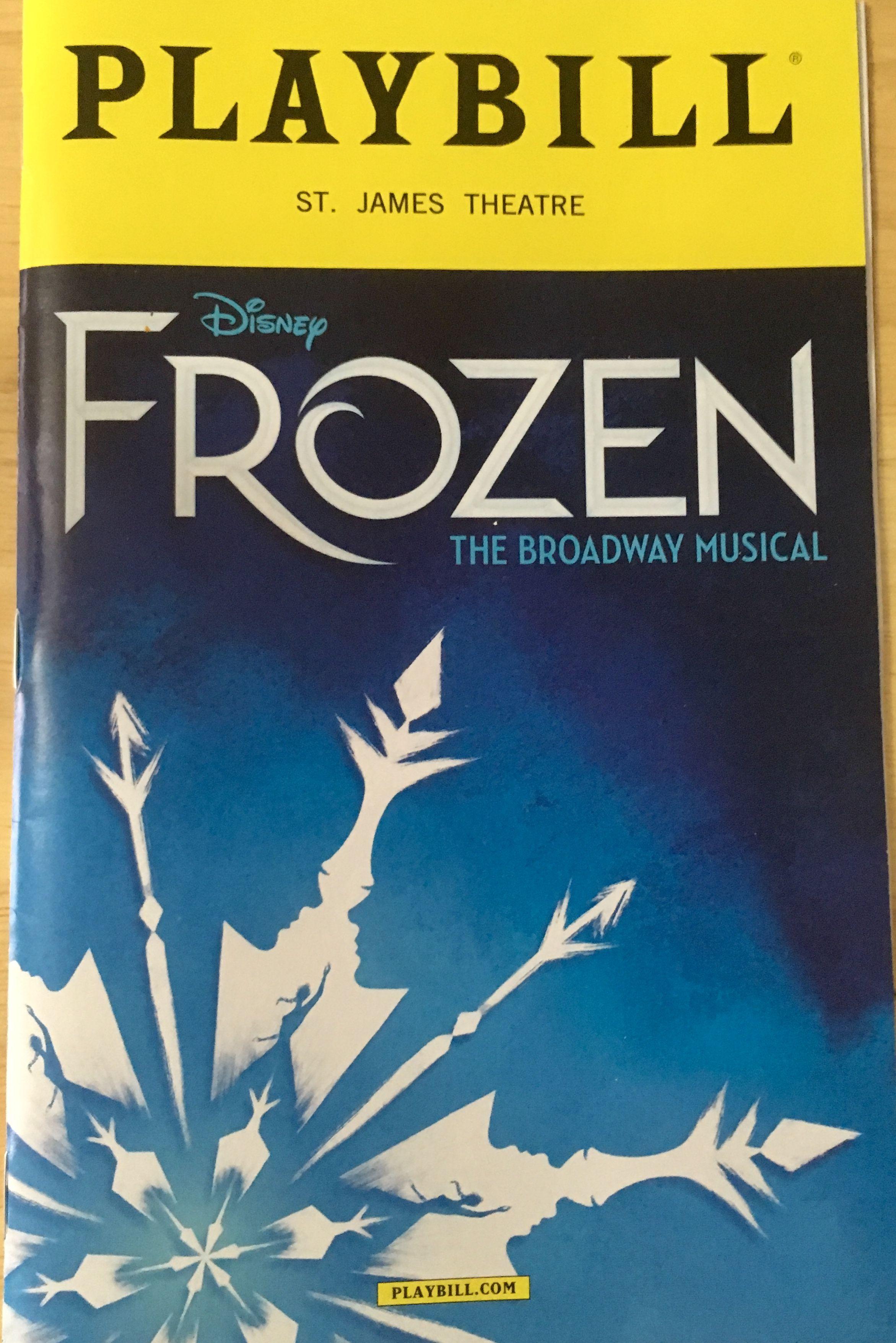 Great show | PLAYBILL - SEEN IT LIVE! | Broadway tickets, Musicals
