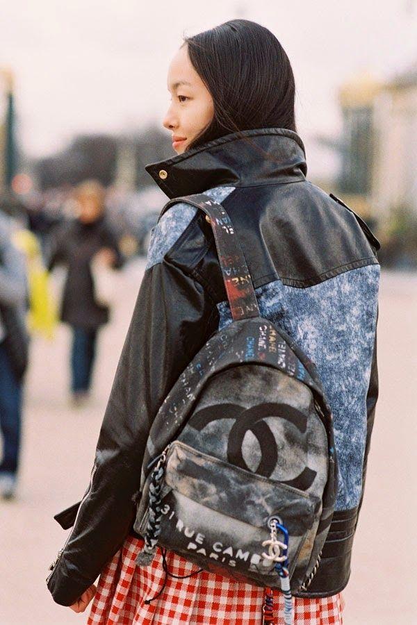 Chanel Graffiti Backpack Cute Backpacks Trendy Backpacks Fashion