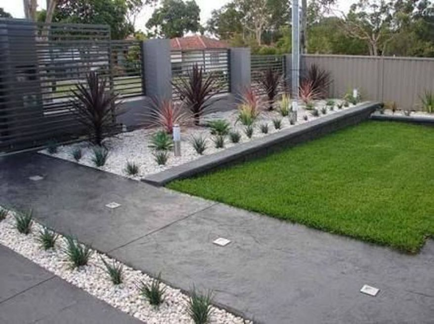 Modern And Contemporary Front Yard Landscaping Ideas 7 Front Yard Garden Design Small Yard Landscaping Modern Front Yard